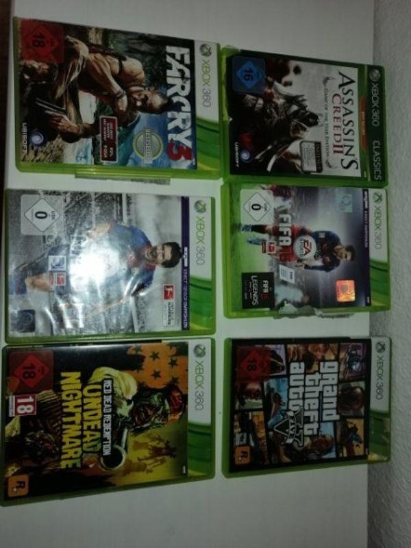 8 Xbox 360 Spiele