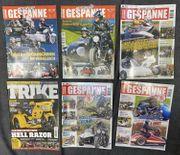5 x Motorrad Gespanne - Magazin