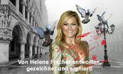 HELENE FISCHER Originalfoto signiert T-shirt