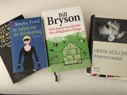Lesefutter - verschiedene Bücher
