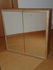Badschrank mit Spiegeltüren IKEA