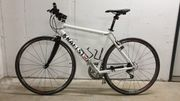 Kraftstoff Rennrad RH 54 Weiß