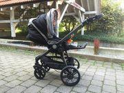 Kinderwagen der Qualitätsmarke Teutonia Modell