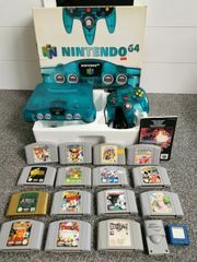Nintendo 64 Ice Blue mit