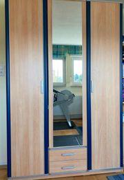 Jugendzimmer-Kleiderschrank Welle Modell Lenja in