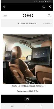 2x TV DVD Audi Entertainment