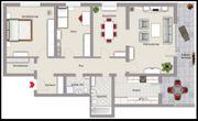 Geräumige 3 5-Zimmerwhg in Waldbronn-Reichenbach mit