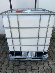 IBC Tank Wassertank 1000 Liter