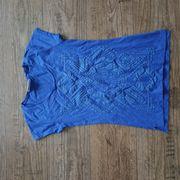 Top T-Shirt blau Gr 36