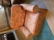 Gut erhaltener Sessel aus den