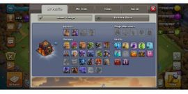 PlayStation 4 - clash of clans account town10