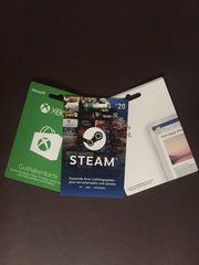 Xbox Steam und Microsoft Office