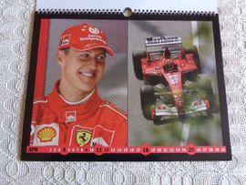 Fanartikel - Kalender Michael Schumacher Ferrari Formel