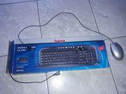 Tastatur von Hama und Maus