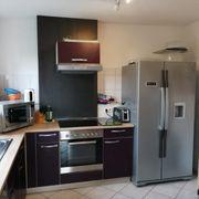 Küche inklusive Side by Side