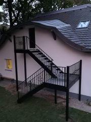 Treppen Aussentreppe Innentreppen Stahlkonstruktion