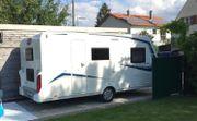 Wohnwagen mit Familiengrundriss