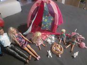Barbie Set Zelten