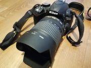 Spiegelreflex Kamera Nikon D3100 inkl