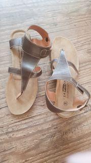 Sandalette Gr 39 braun NEU
