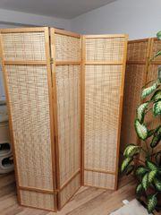 Paravent Raumteiler Bambus