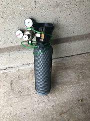 Fischer CO2 Flasche mit Armatur