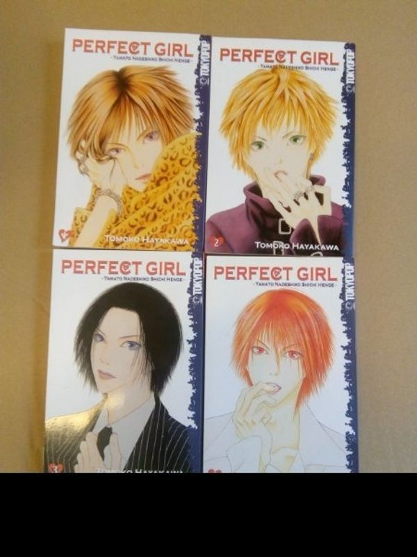 Manga Perfekt Girl 1-4