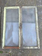 uralte Fenster Fensterteile 5 Stück