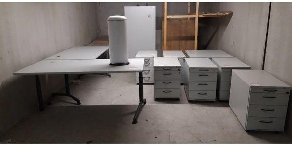 Homeoffice Schreibtische Arbeitstisch Rollcontainer Bürostuhl