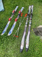 Skier für Kinder und Erwachsene