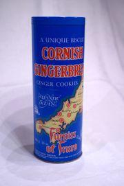Alte Keksdose Cornish Gingerbread