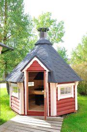 Grillkota Grillhütte 6 9m² Grillanlage