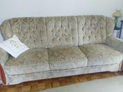 Sofa Sitzgruppe mit Sessel elektrisch