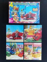 Ravensburger 4 Puzzle Bob Baumeister