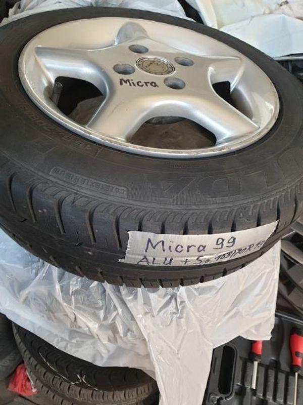 4xALU für NissanMicra 155 70R13