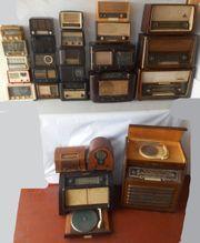 Konvolut Röhrenradios - insgesamt 26 Geräte
