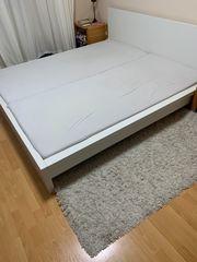 IKEA Doppelbett inkl 2x Lattenrost