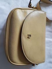 Aigner-Tasche Saddle Bag hellgelb
