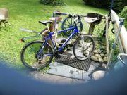Treckingbike und Chopper Fahrrad ohne