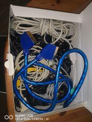 Verschiedene Kabel Scart USB Cinch