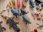 viele Tiere Figuren Spielzeug groß