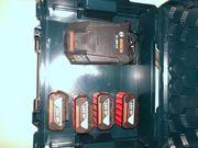 Bosch Ladegerät mit 4 mal
