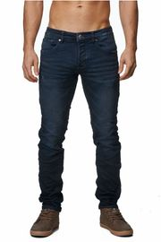 Herren Jeans Tapered Fit Used