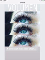 Wimpern Verlängerung 1 1 Volumen
