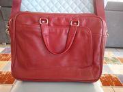 Wunderschöne rote Laptop Notebook Tasche