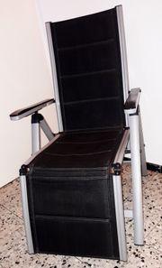 Gartenstühle Relaxsessel mit Auflage