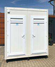 Sanitärcontainer WC Dusche Container Toilettencontainer