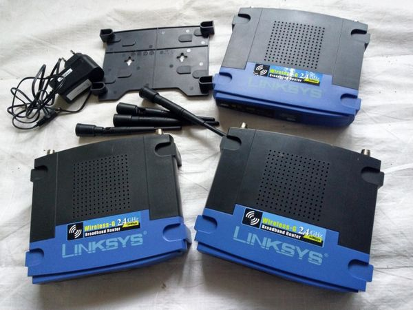 Linksys Router WRT54G funktionsfähig 3