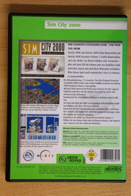 PC-Spiele - Sim City 2000 - Vollversion komplett