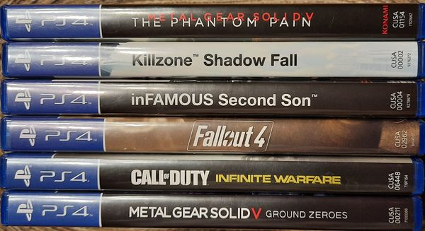 6 PS 4 -Spiele